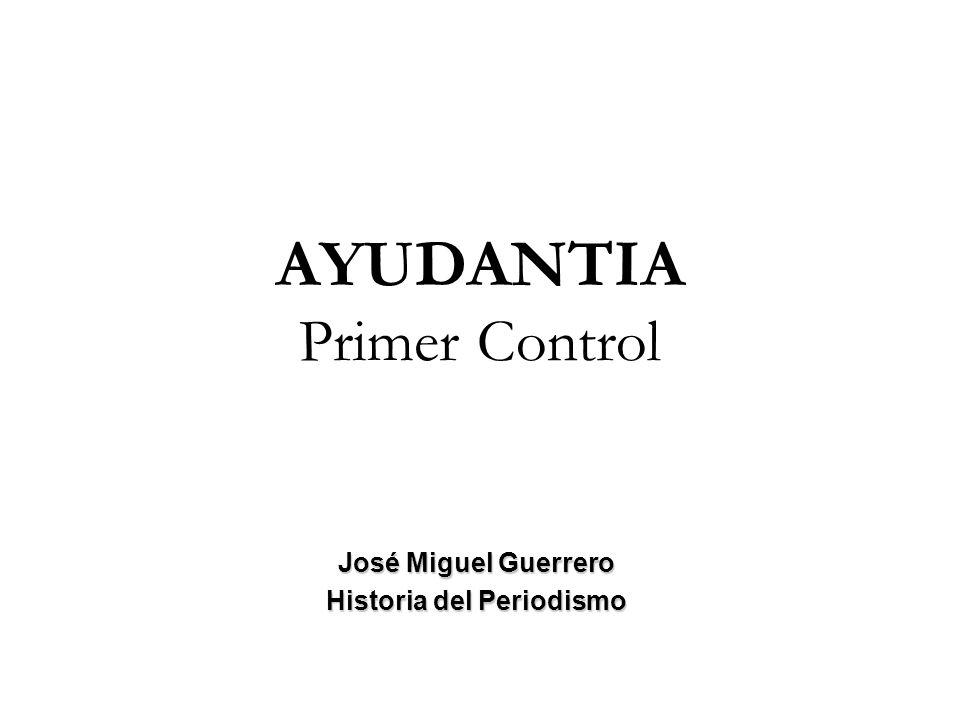AYUDANTIA Primer Control