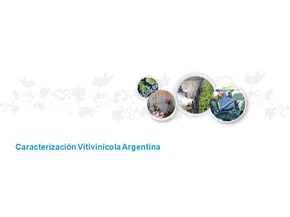 Caracterización Vitivinícola Argentina