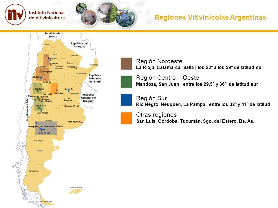Regiones Vitivinícolas Argentinas