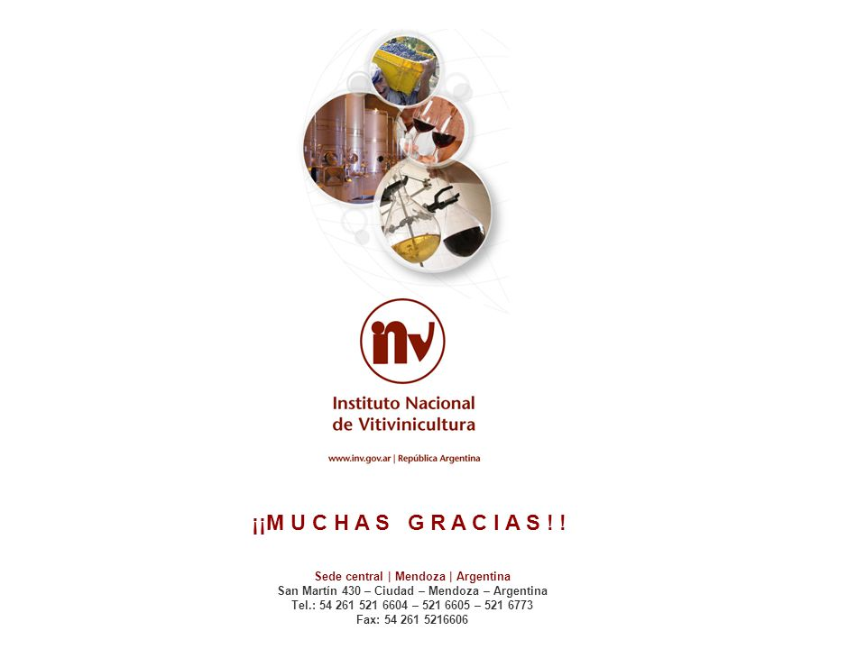 ¡¡M U C H A S G R A C I A S ! ! Sede central | Mendoza | Argentina