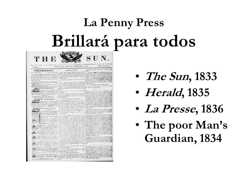 La Penny Press Brillará para todos