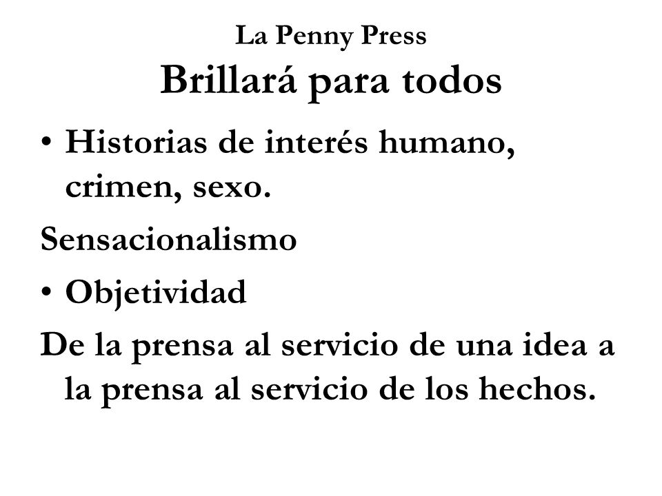 La Penny Press Brillará para todos