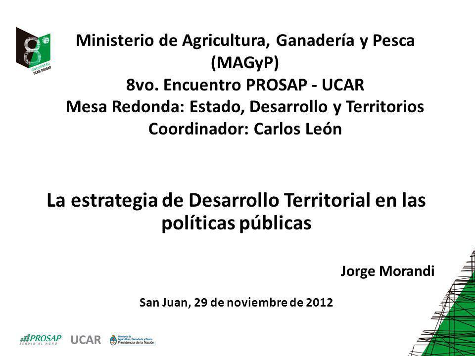 La estrategia de Desarrollo Territorial en las políticas públicas