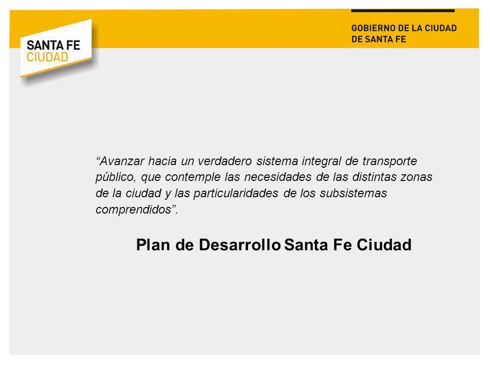 Plan de Desarrollo Santa Fe Ciudad