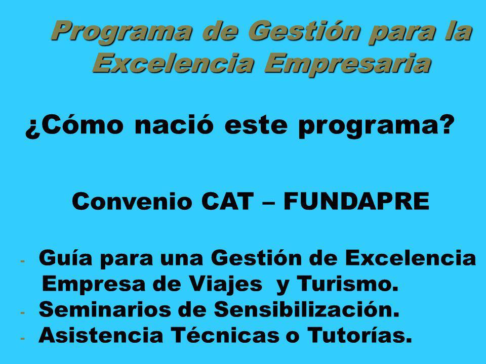Programa de Gestión para la Excelencia Empresaria