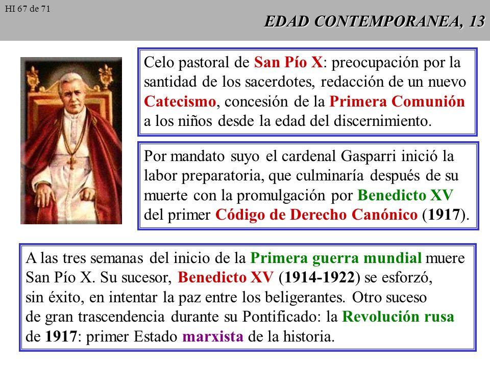 Celo pastoral de San Pío X: preocupación por la