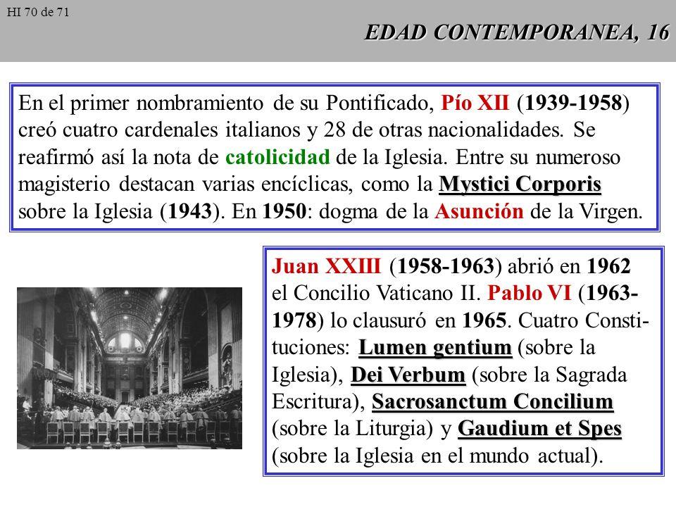 En el primer nombramiento de su Pontificado, Pío XII (1939-1958)