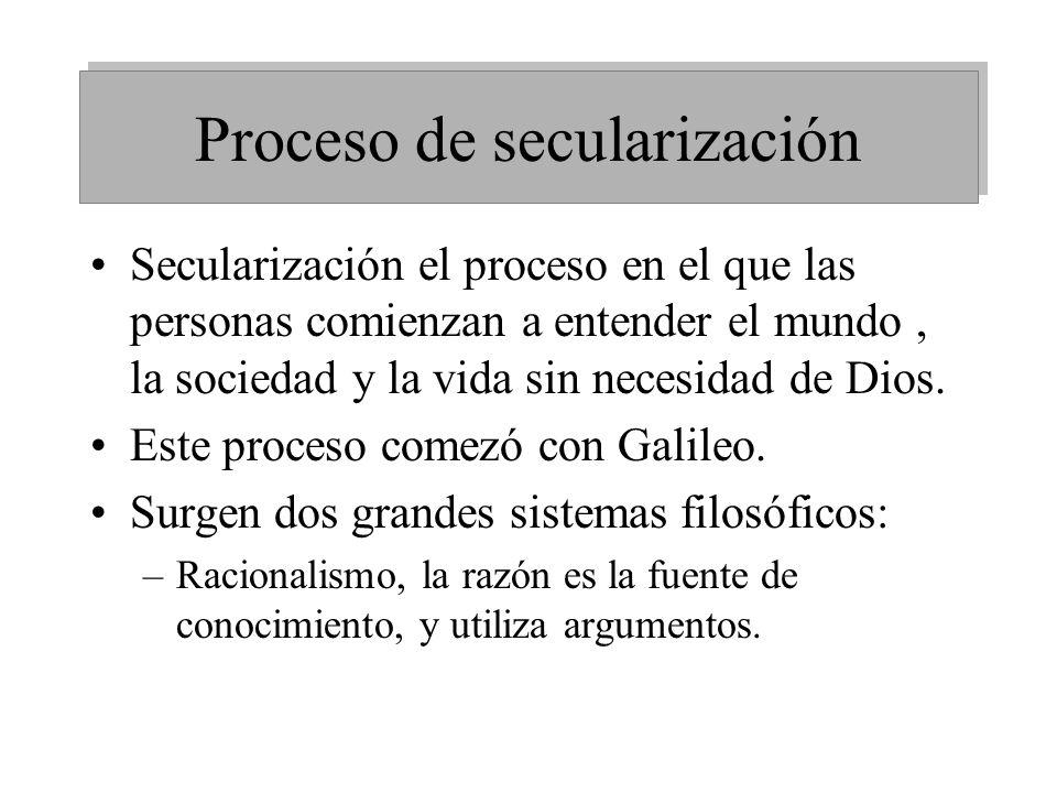 Proceso de secularización