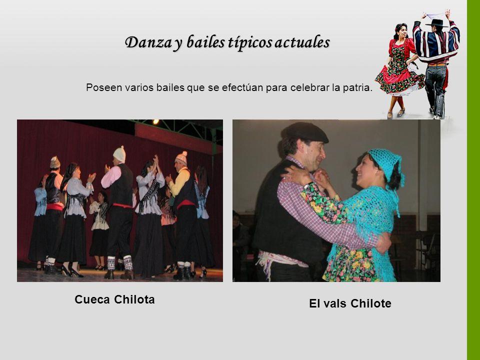 Danza y bailes típicos actuales