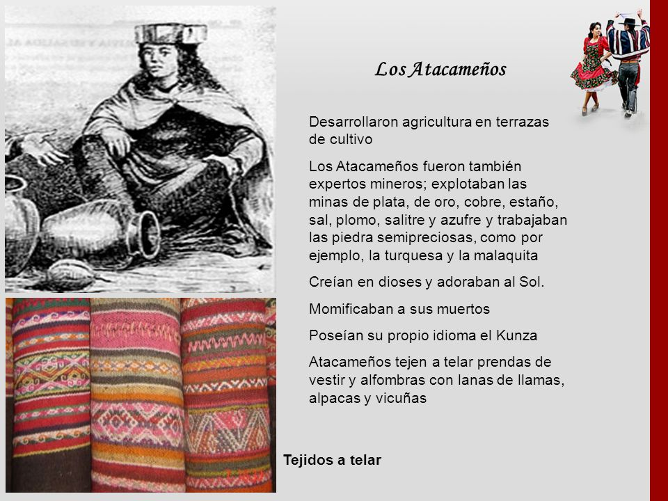 Los Atacameños Desarrollaron agricultura en terrazas de cultivo