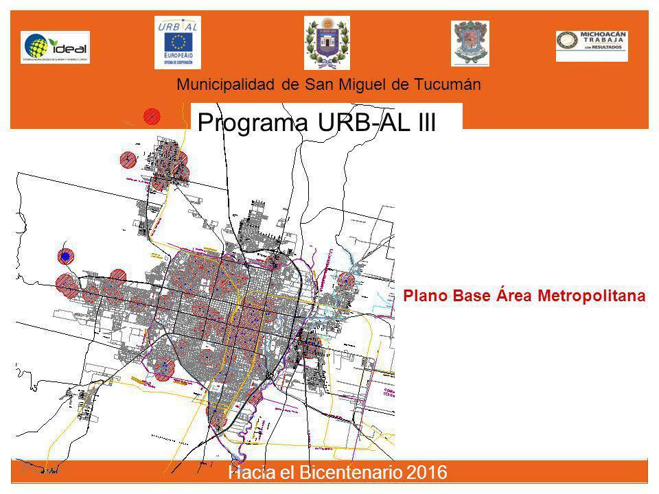 Programa URB-AL III Hacia el Bicentenario 2016