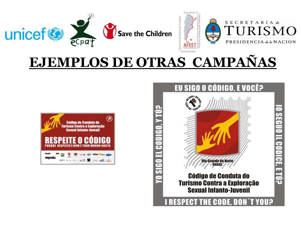 EJEMPLOS DE OTRAS CAMPAÑAS