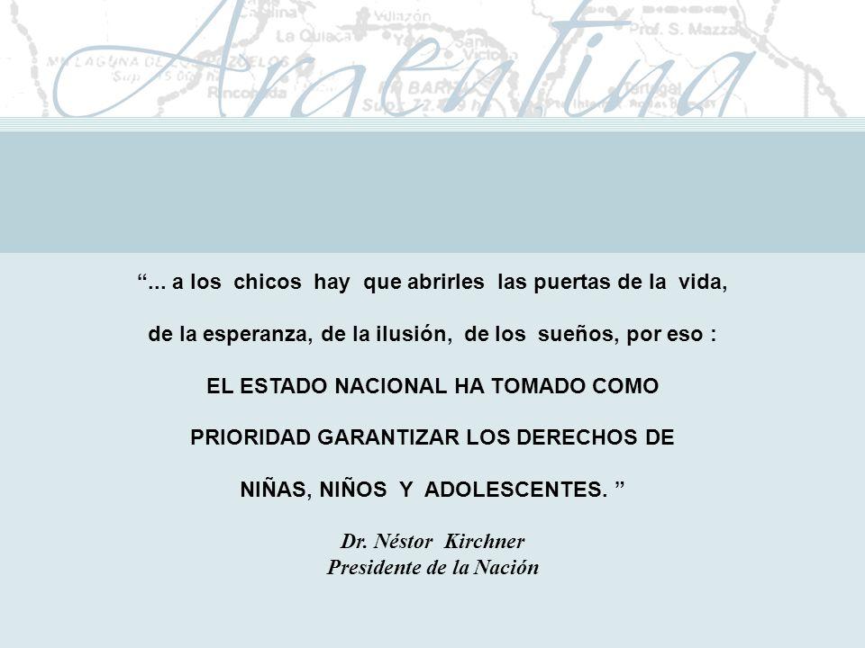 Presidente de la Nación