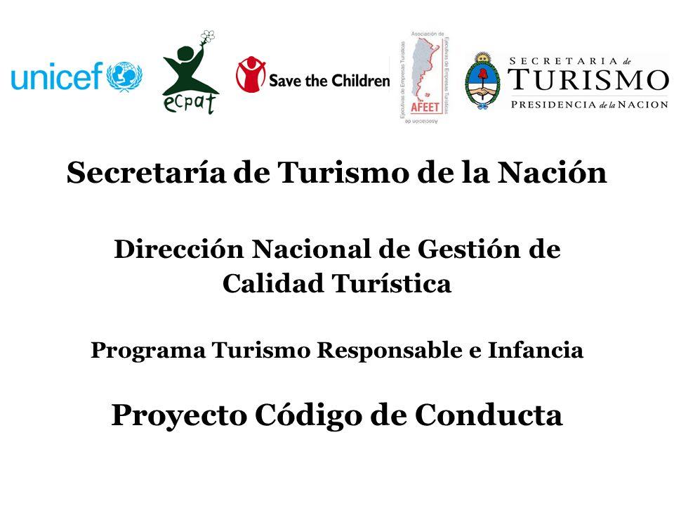 Secretaría de Turismo de la Nación