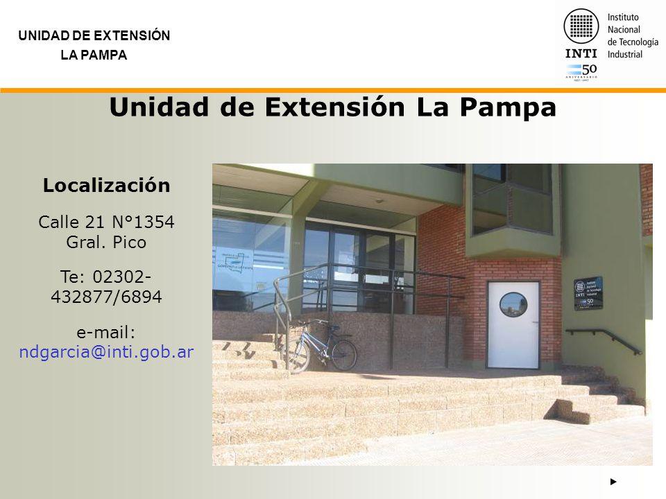 Unidad de Extensión La Pampa