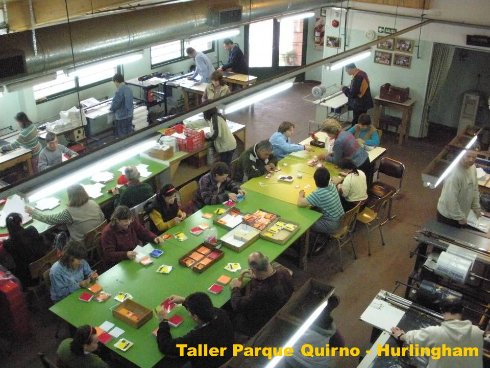 Taller Parque Quirno - Hurlingham