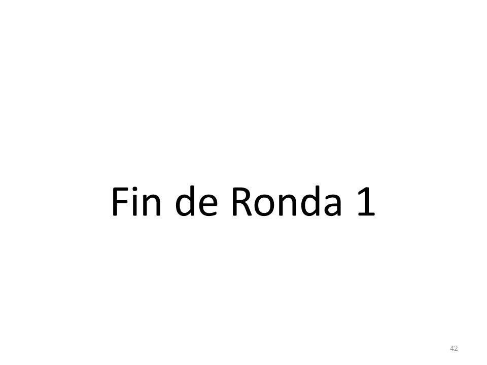 Fin de Ronda 1