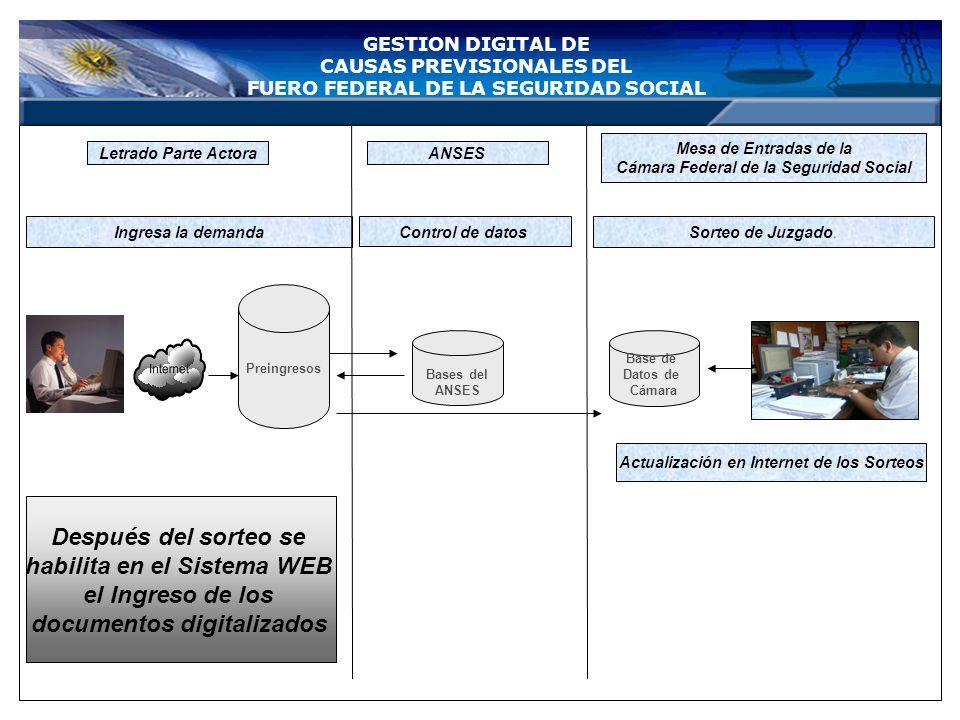 habilita en el Sistema WEB el Ingreso de los documentos digitalizados