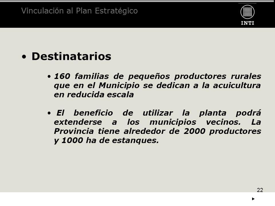 Vinculación al Plan Estratégico