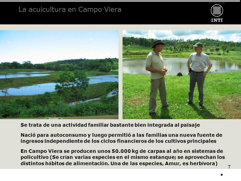 La acuicultura en Campo Viera