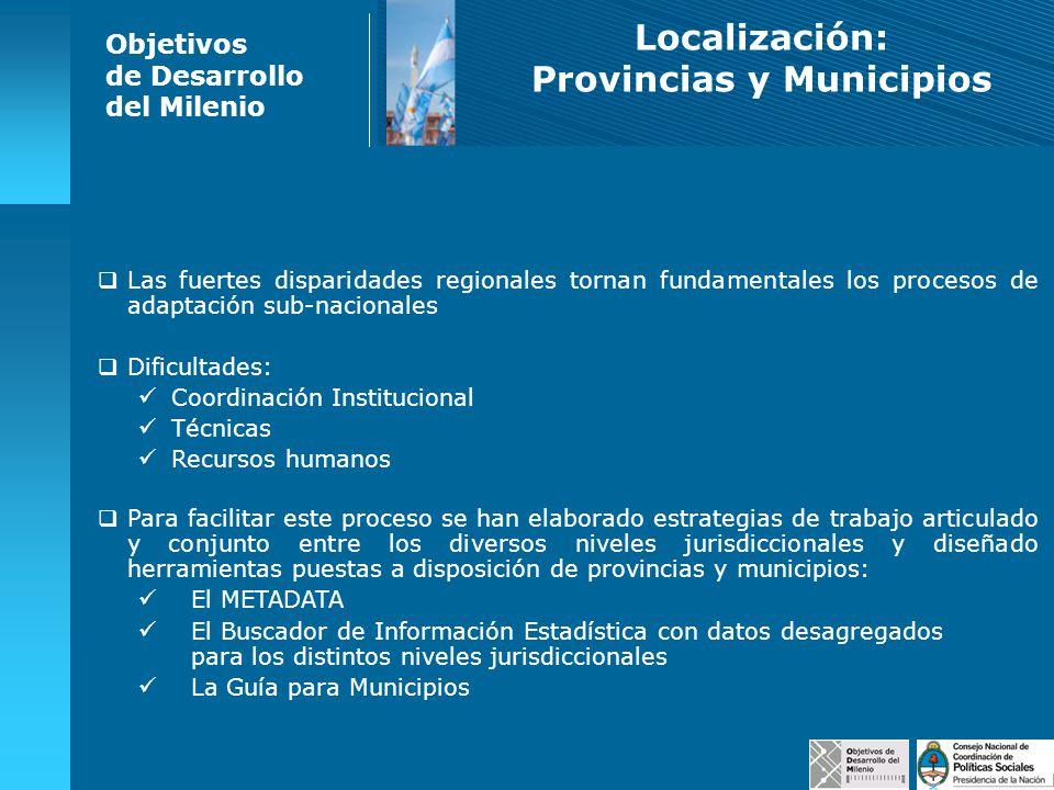 Provincias y Municipios