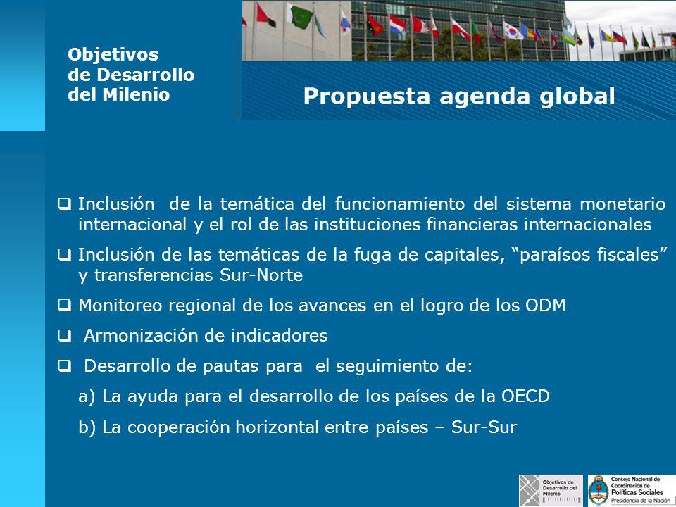 Propuesta agenda global