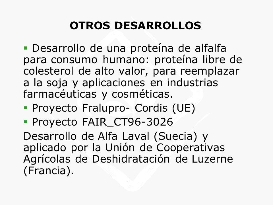 OTROS DESARROLLOS
