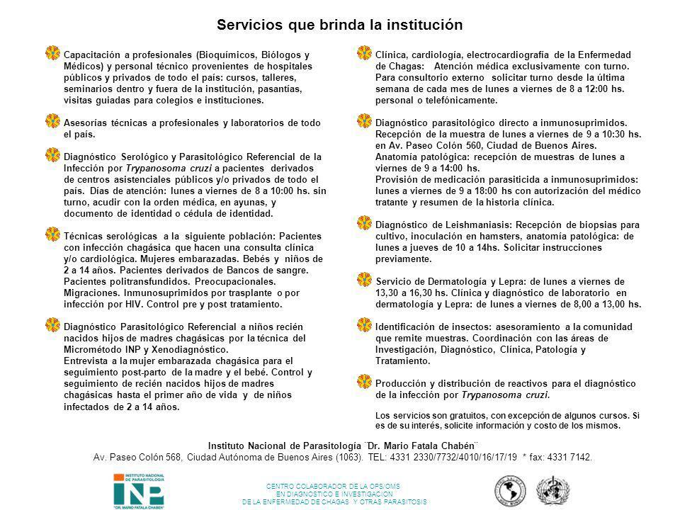 Instituto Nacional de Parasitología ¨Dr. Mario Fatala Chabén¨