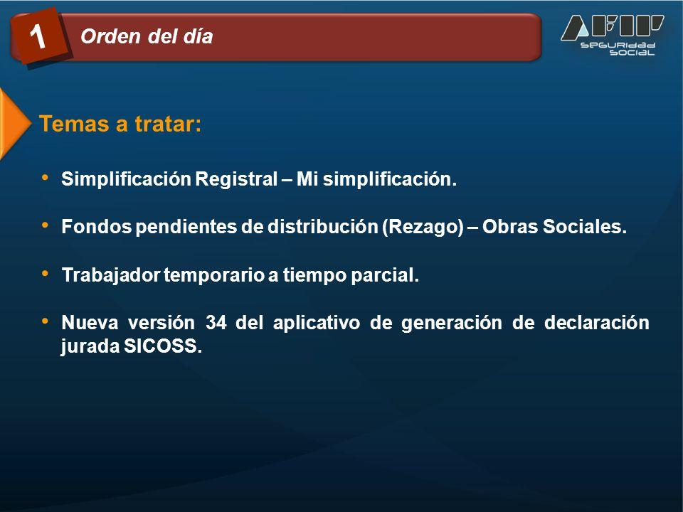 Simplificación Registral