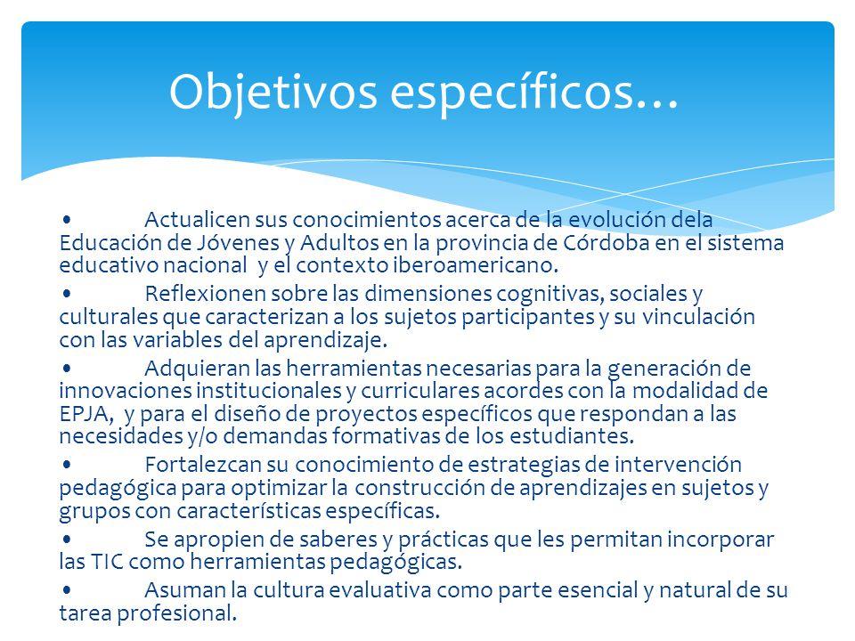 Objetivos específicos…
