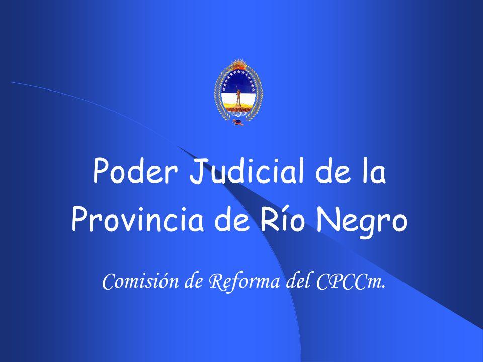 Comisión de Reforma del CPCCm.