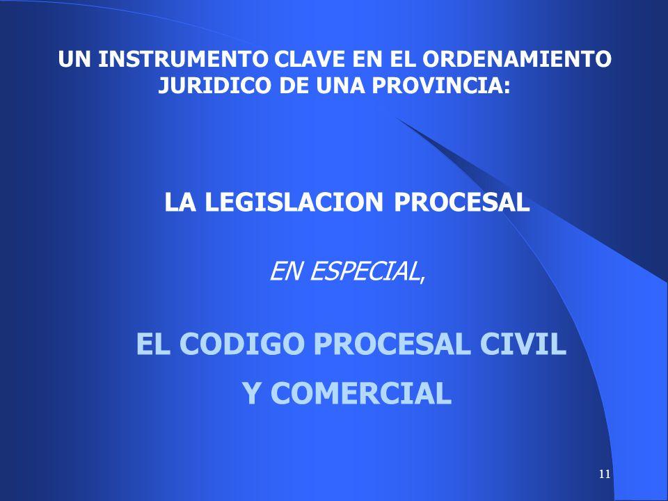 UN INSTRUMENTO CLAVE EN EL ORDENAMIENTO JURIDICO DE UNA PROVINCIA: