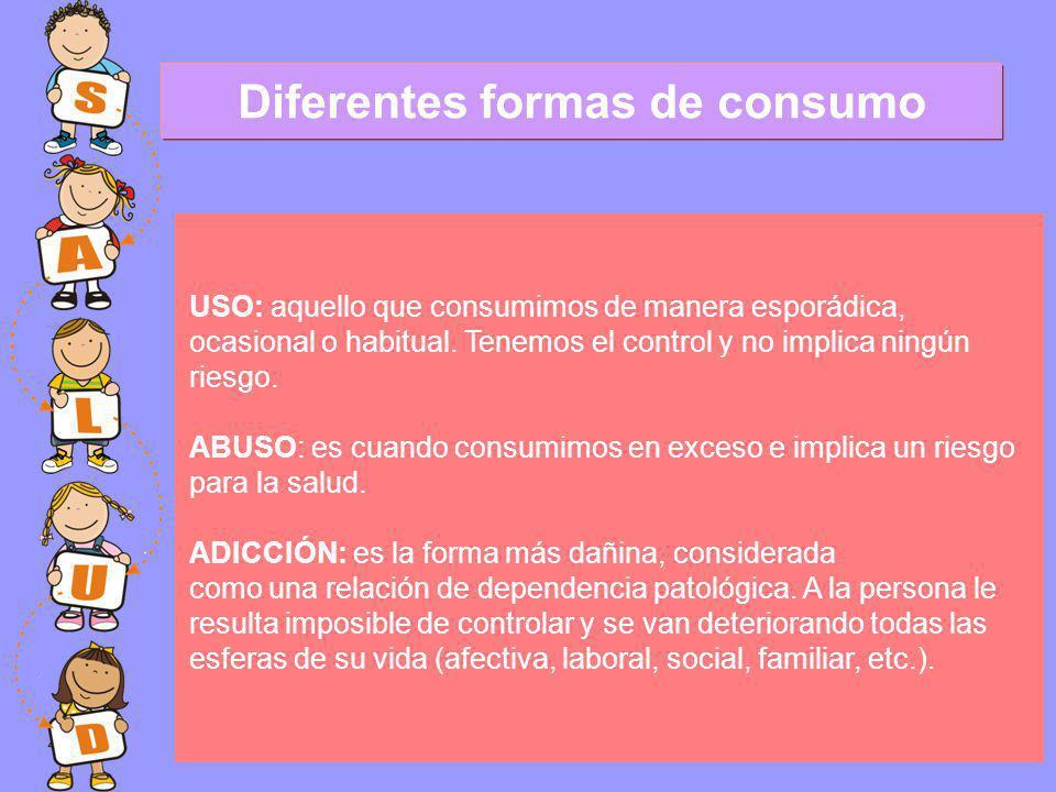 Diferentes formas de consumo