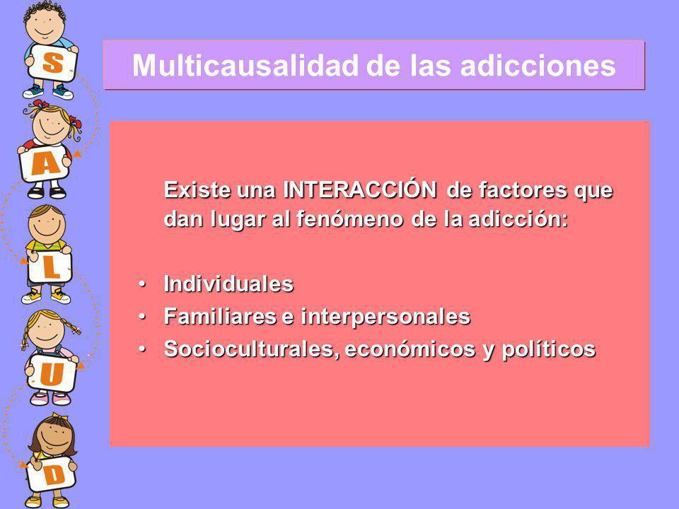 Multicausalidad de las adicciones
