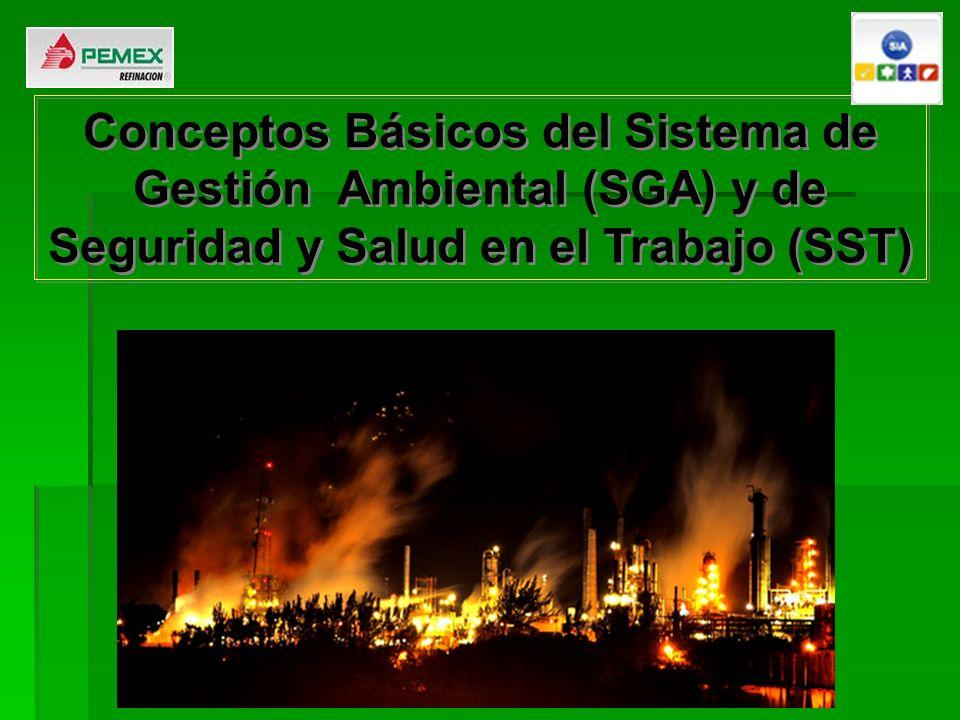 Conceptos Básicos del Sistema de Gestión Ambiental (SGA) y de Seguridad y Salud en el Trabajo (SST)