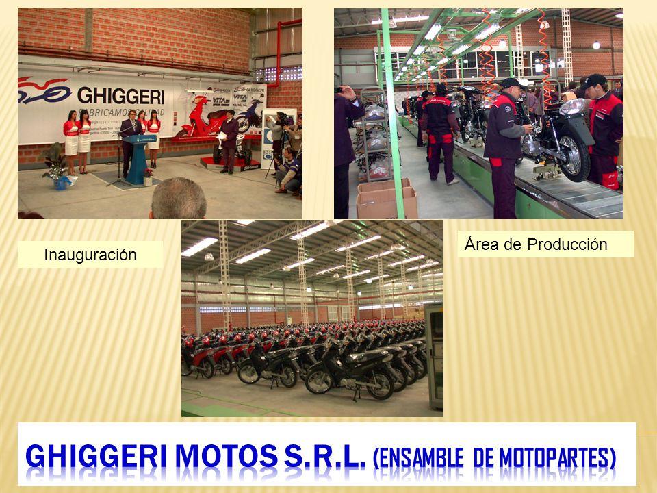 GHIGGERI MOTOS S.R.L. (ensamble de motopartes)