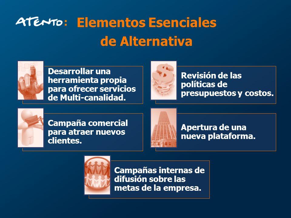 Elementos Esenciales de Alternativa
