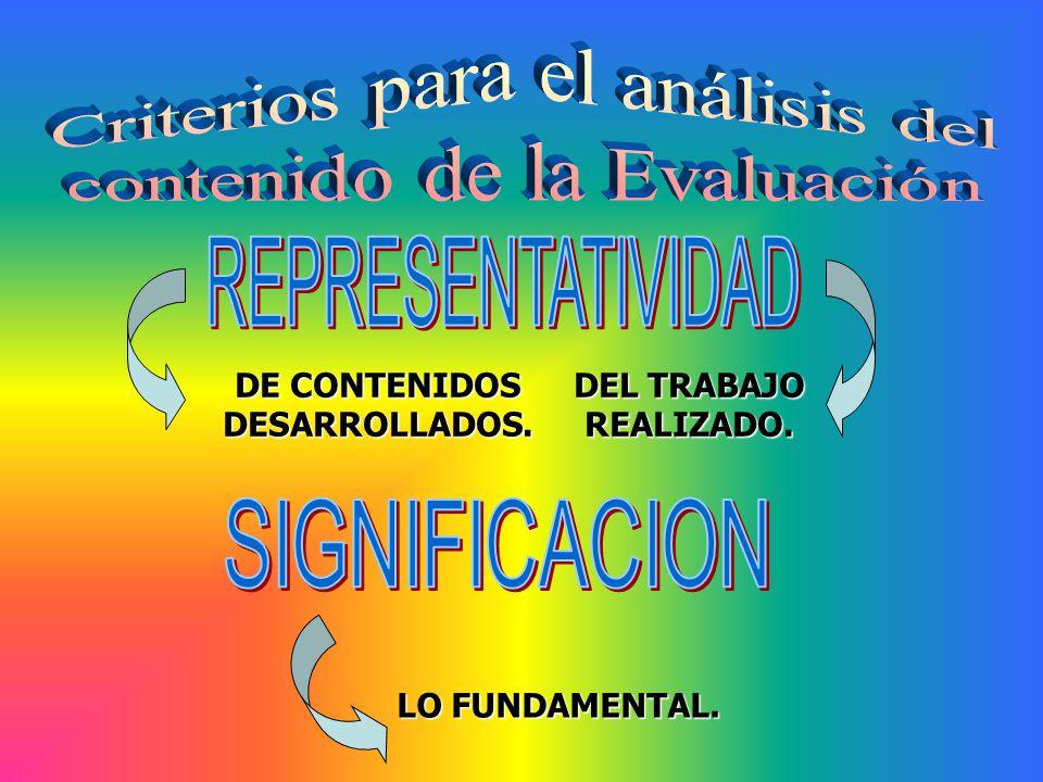 DE CONTENIDOS DESARROLLADOS.
