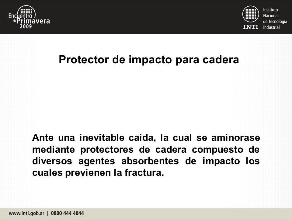 Protector de impacto para cadera