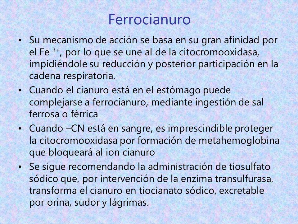 Ferrocianuro