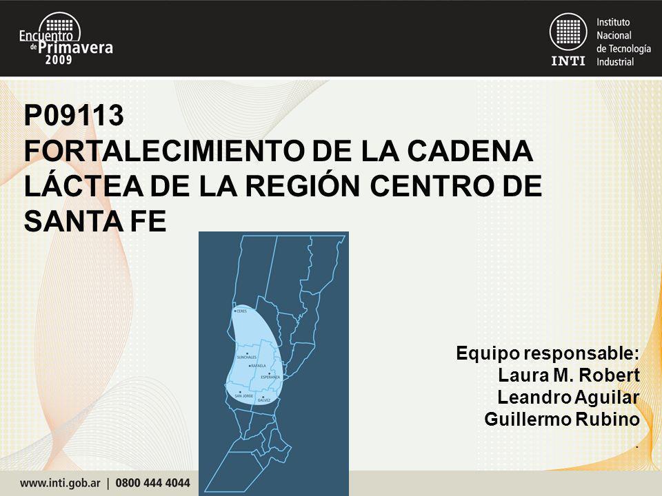 P09113 FORTALECIMIENTO DE LA CADENA LÁCTEA DE LA REGIÓN CENTRO DE SANTA FE