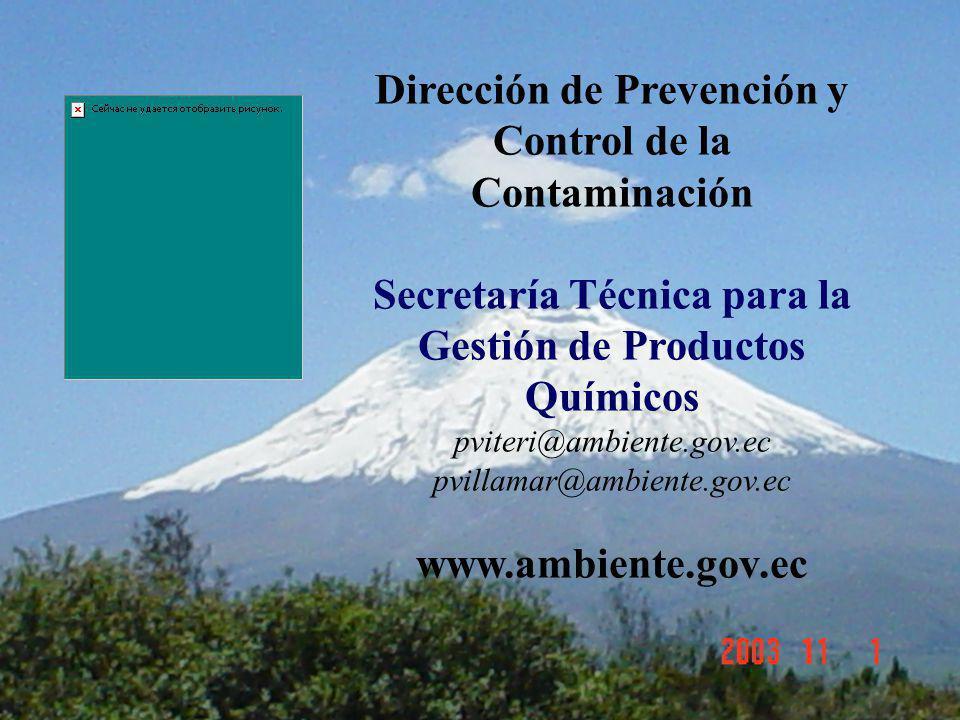 Dirección de Prevención y Control de la Contaminación