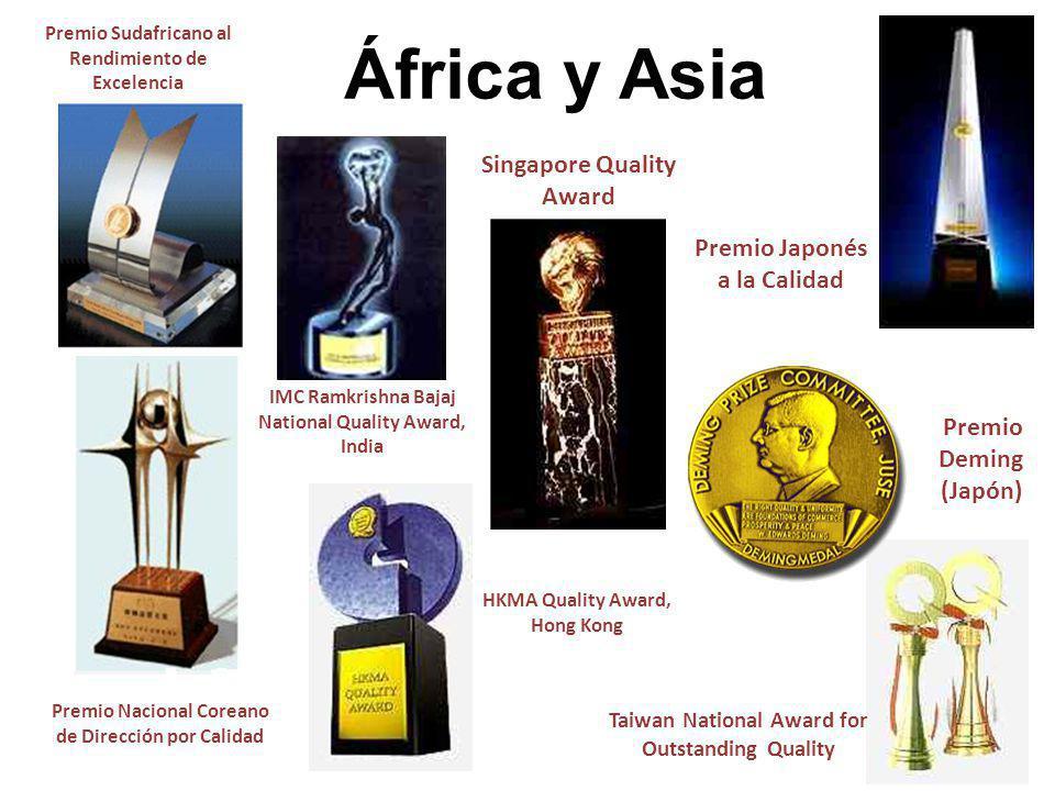 África y Asia Singapore Quality Award Premio Japonés a la Calidad