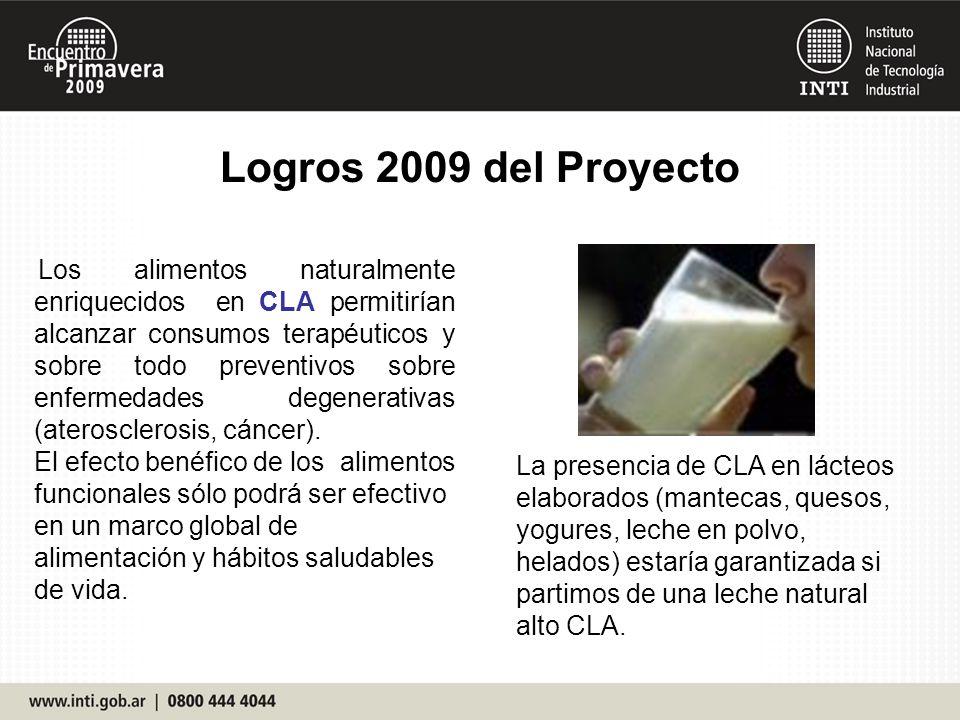 Logros 2009 del Proyecto