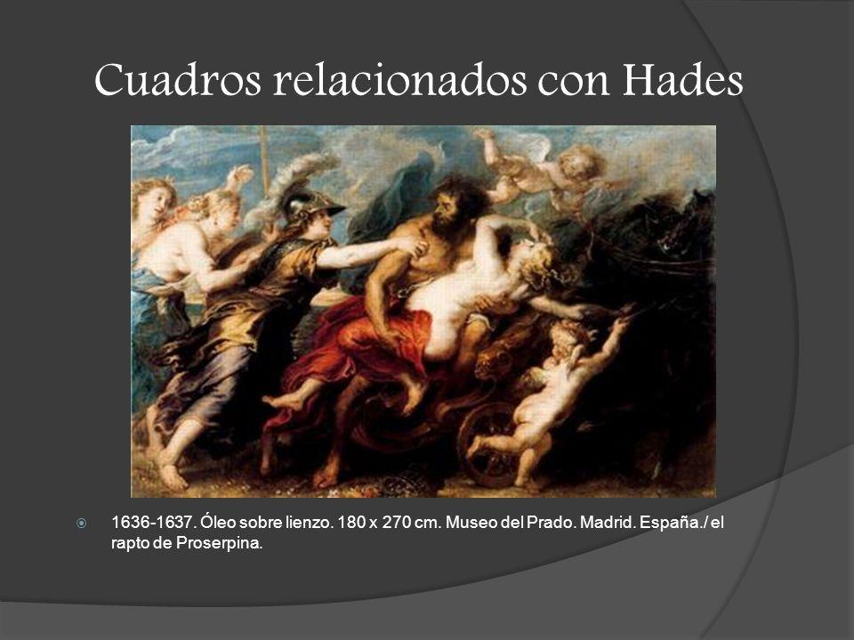 Cuadros relacionados con Hades
