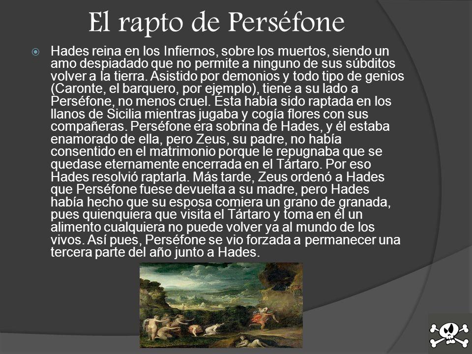 El rapto de Perséfone