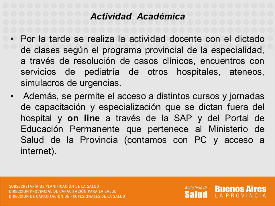 Actividad Académica