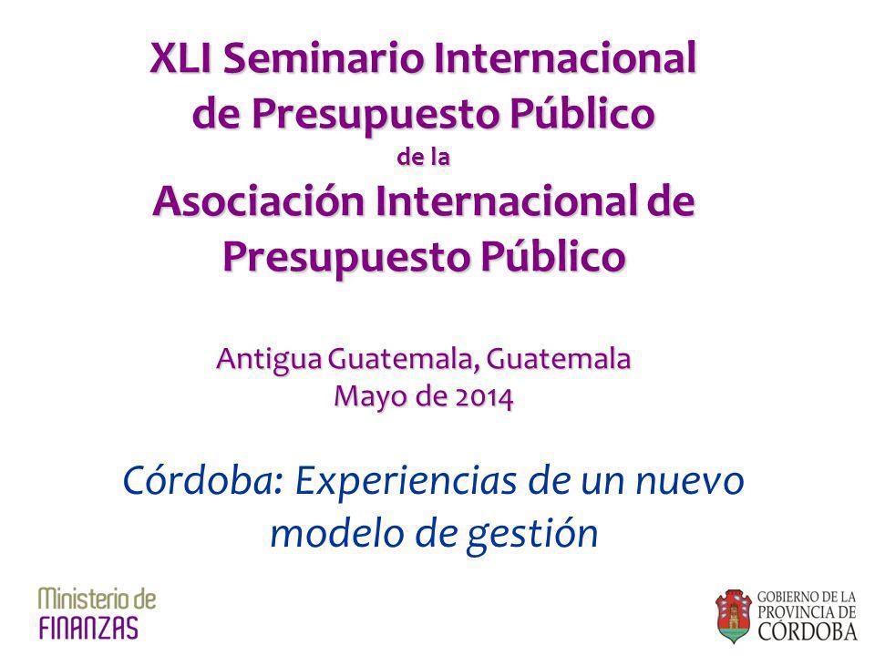XLI Seminario Internacional de Presupuesto Público
