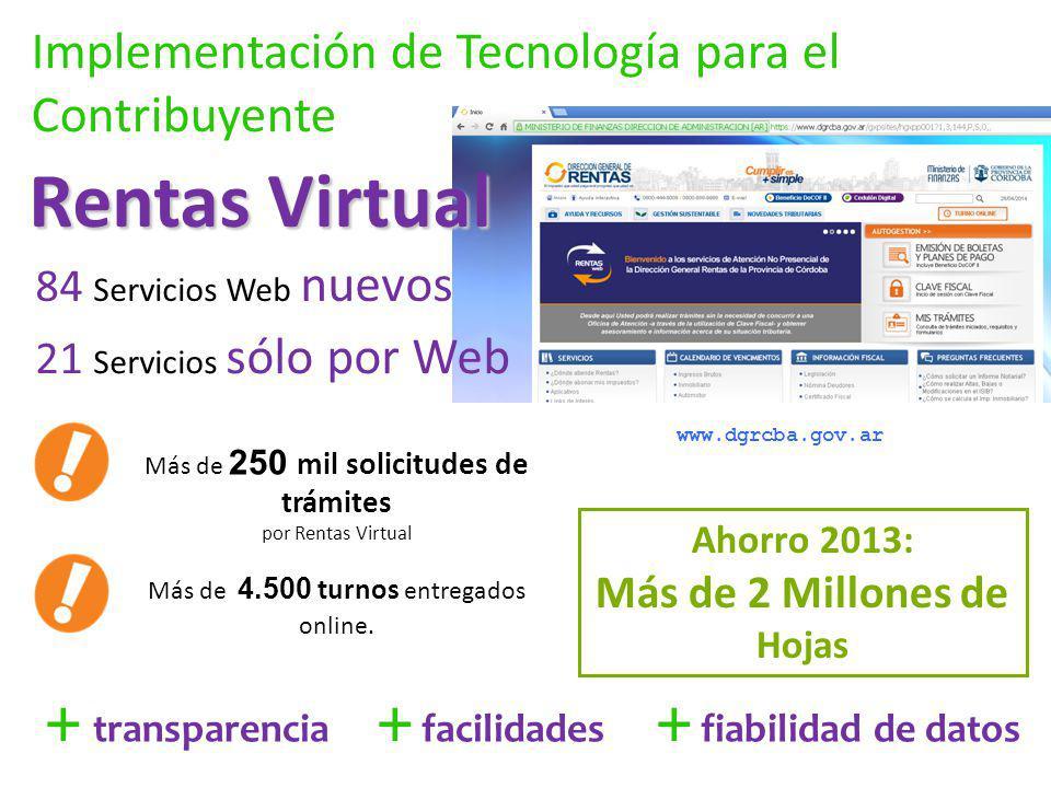 Implementación de Tecnología para el Contribuyente