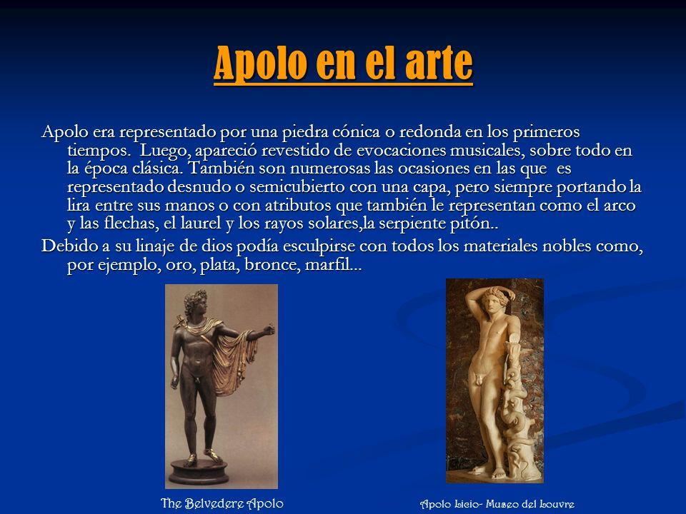 Apolo en el arte